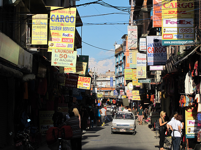 Thamel District – Kathmandu