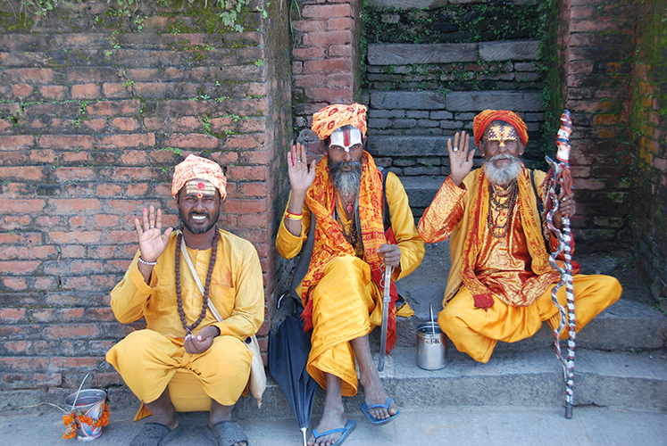 Hindu Sadhus – Pashupatinath
