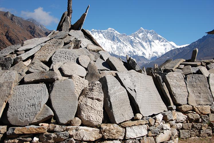 Mani prayer stones