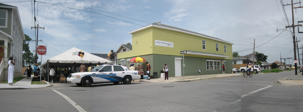 The North Galvez business center was completed in the Spring of 2008.
