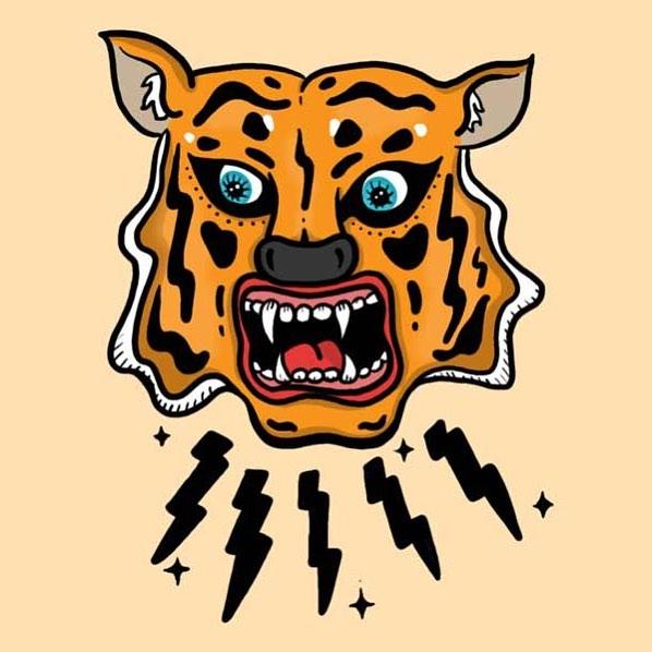 Tiger 🐯 #illustration #illustrationoftheday #sundays #womenempowerment #womenillustrators #womenillustration #tiger🐯 #animalkingdom #orange #design #ballpitmag #zoo #desigmilk #creativity #creativityonline #nyc🗽
