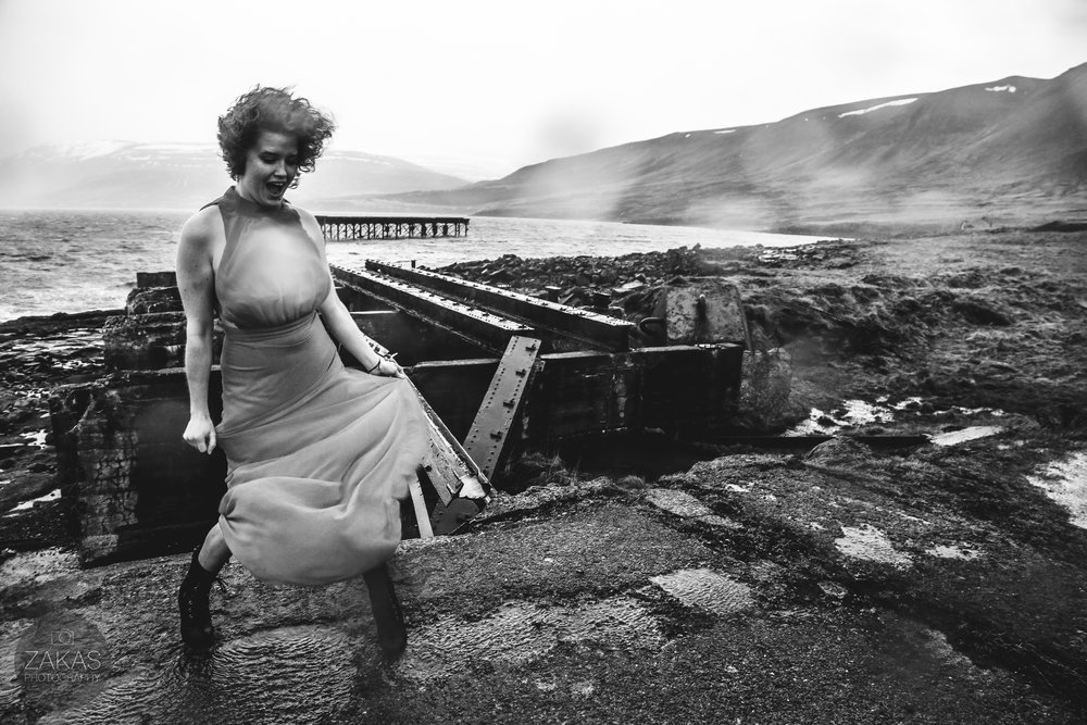 ELOPE ICELAND NONTRADITIONAL BRIDE