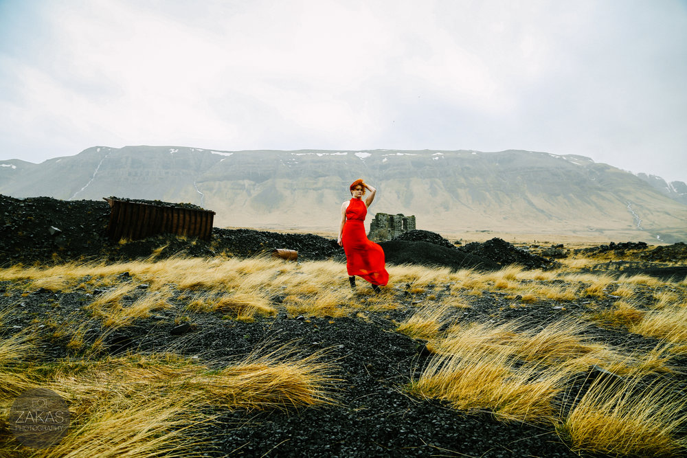 ICELAND ELOPEMENT BRIDE
