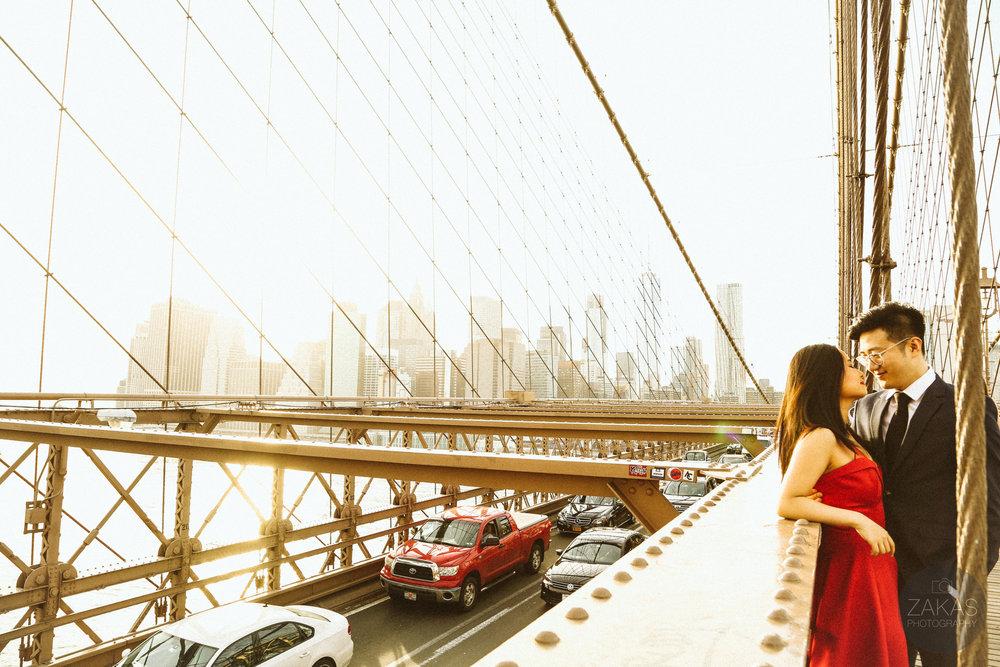 ENGAGEMENT PHOTOGRAPHY: BROOKLYN BRIDGE