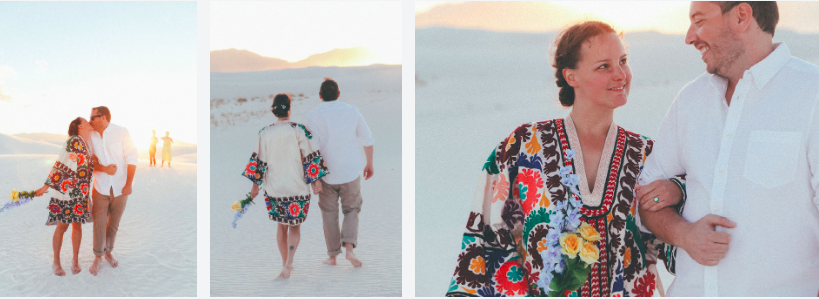 ELOPEMENT: WHITE SANDS NEW MEXICO