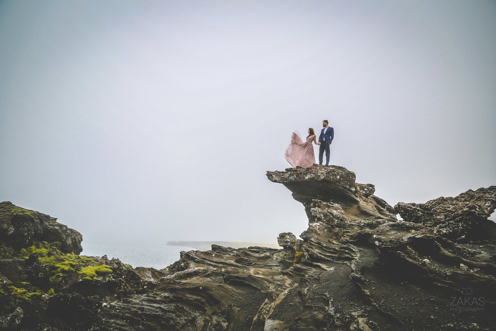 NONTRADITIONAL WEDDING DRESS: ICELAND WEDDING PHOTOGRAPHY