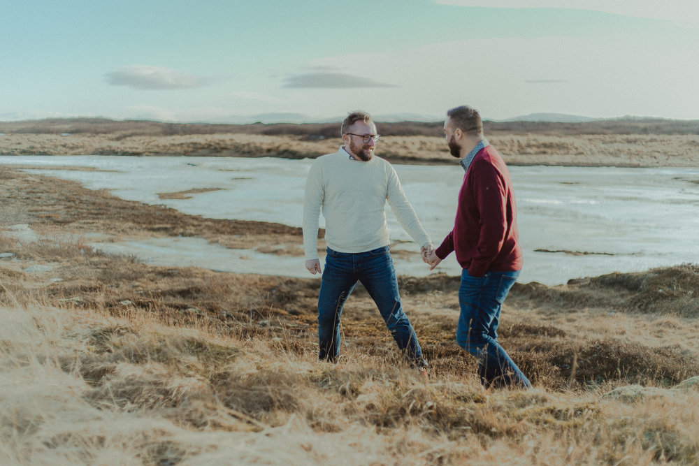 ICELAND ELOPEMENT PHOTOGRAPHER - LGBTQ WEDDING PHOTOGRAPHER- SAME SEX ENGAGEMENT PHOTOS