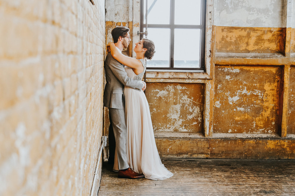 greenpoint loft wedding- Brooklyn wedding photographer
