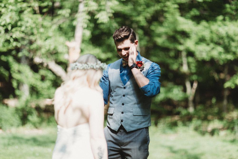 Intimate Wedding at Full Moon Resort, New York   Brooklyn Wedding Photographer