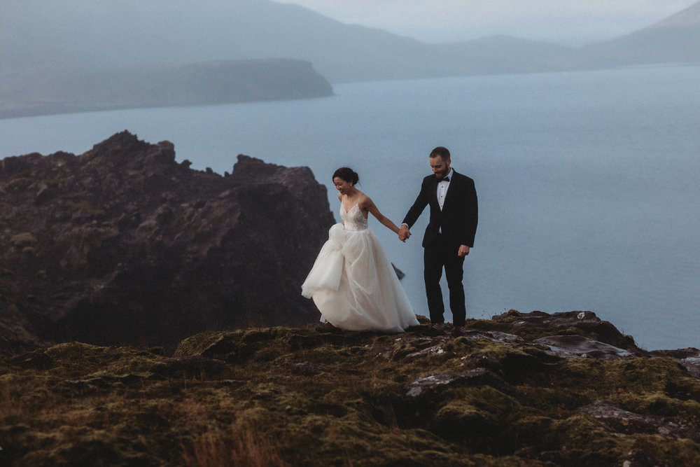 Best Iceland elopement photographer | Iceland wedding pictures