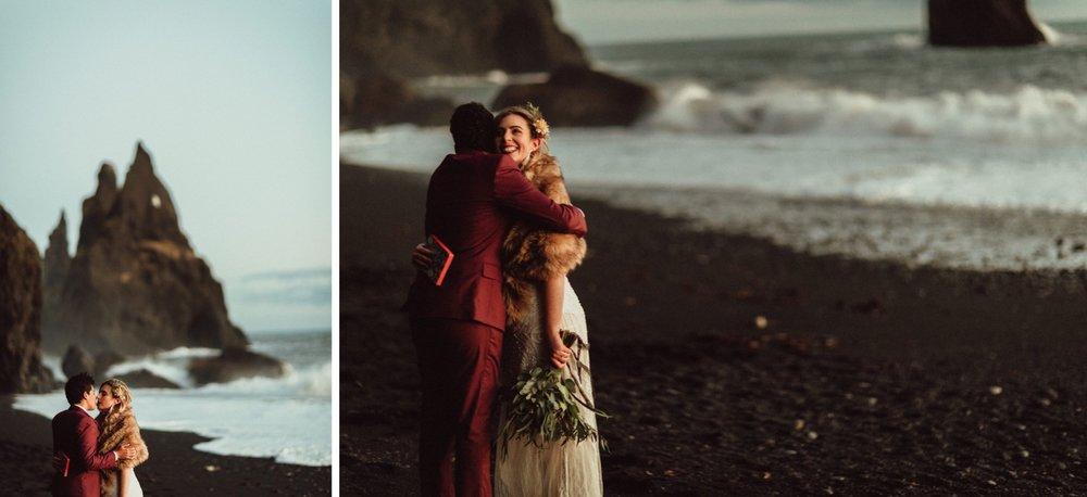 LGBTQ-iceland-wedding-black-sand-beach