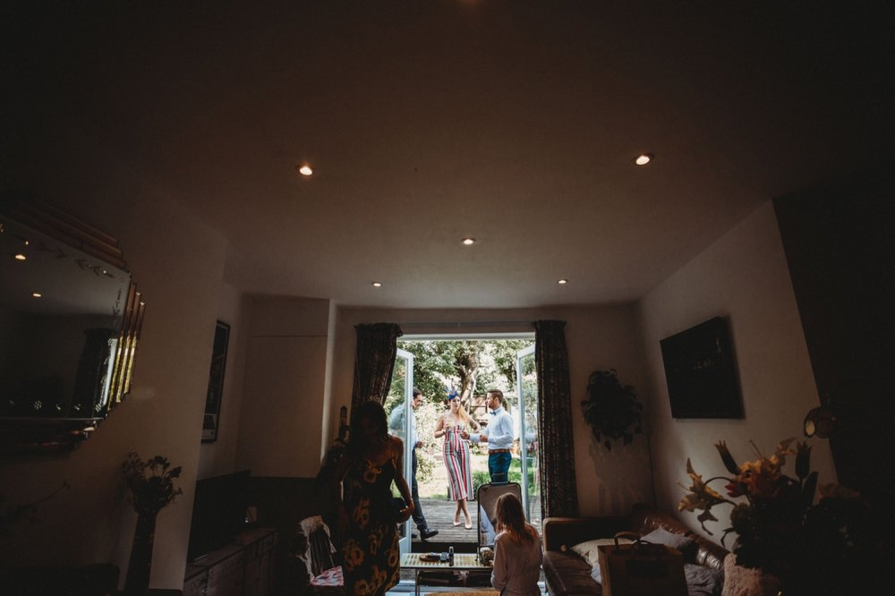 hackney London wedding  by zakas photography