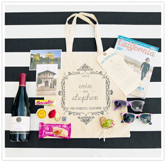 Atlanta Wedding Gift Bag Ideas : Welcome Your Guests with Wedding Welcome Bags! - Weddings by Kayln
