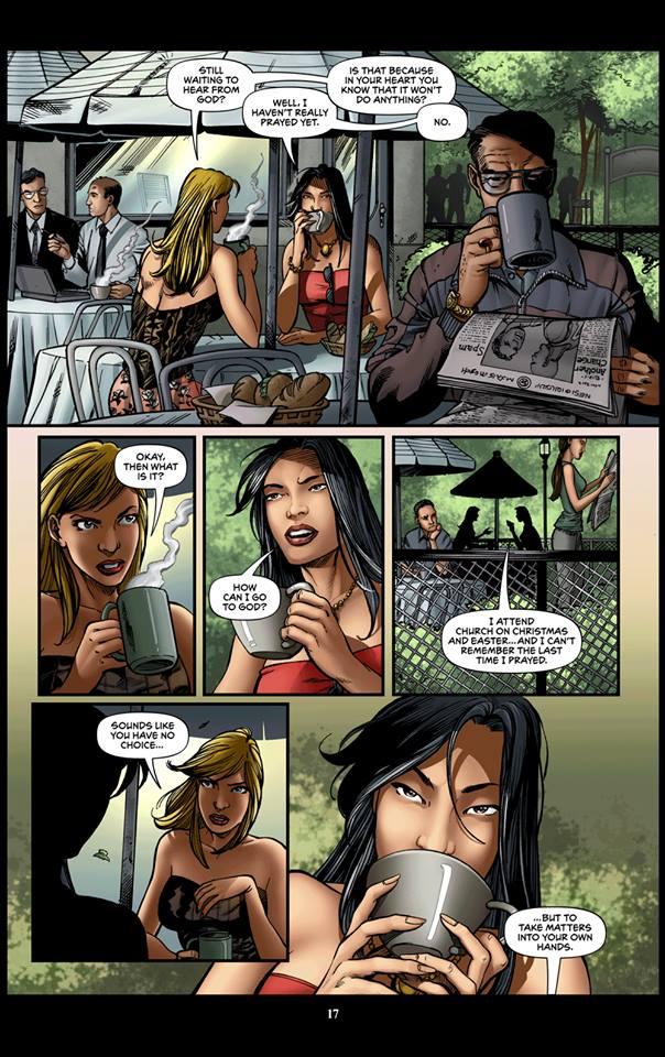 Black Tiger Comics 3: Beyond Time Comics