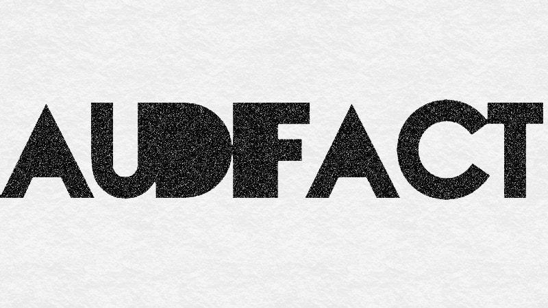 Audifact website logo