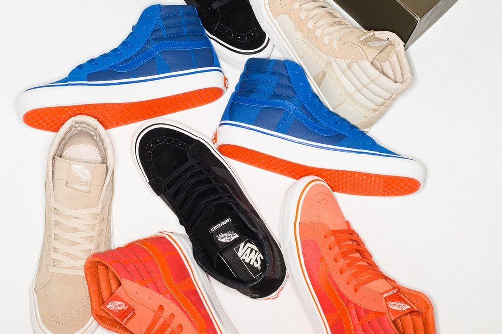 Undefeated, Vans, streetwear, collection