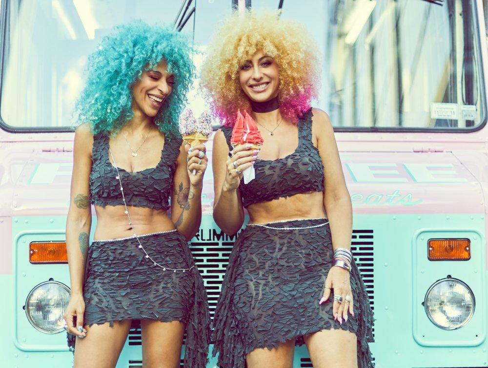 Big Hair Girls pop music