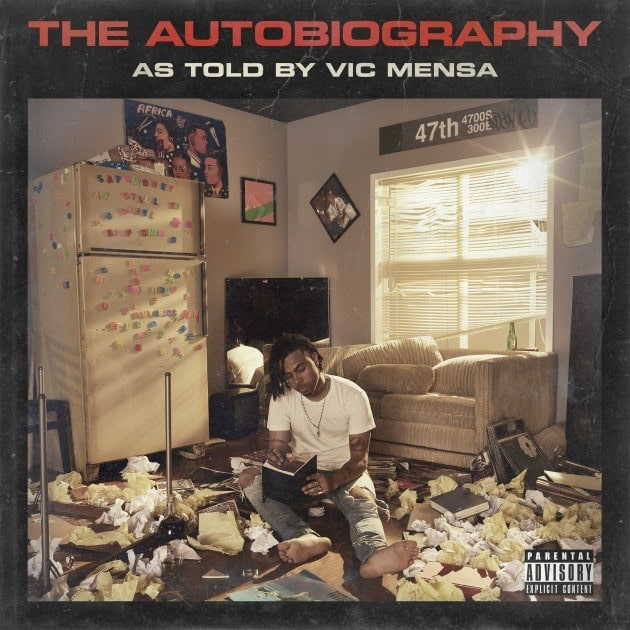 Vic Mensa album cover, review