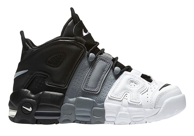 Nike Air More Uptempo 'Tri-Color' sneakers