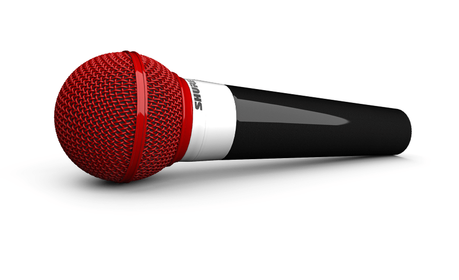 Colorware Shure SM58 customized mics