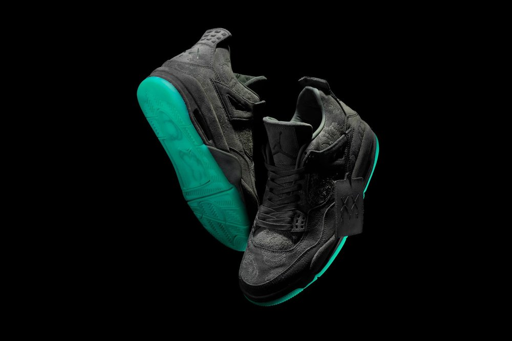 check out 6eac0 8693c Kaws X Air Jordan 4 Release On Cyber Monday - DOPECAUSEWESAID