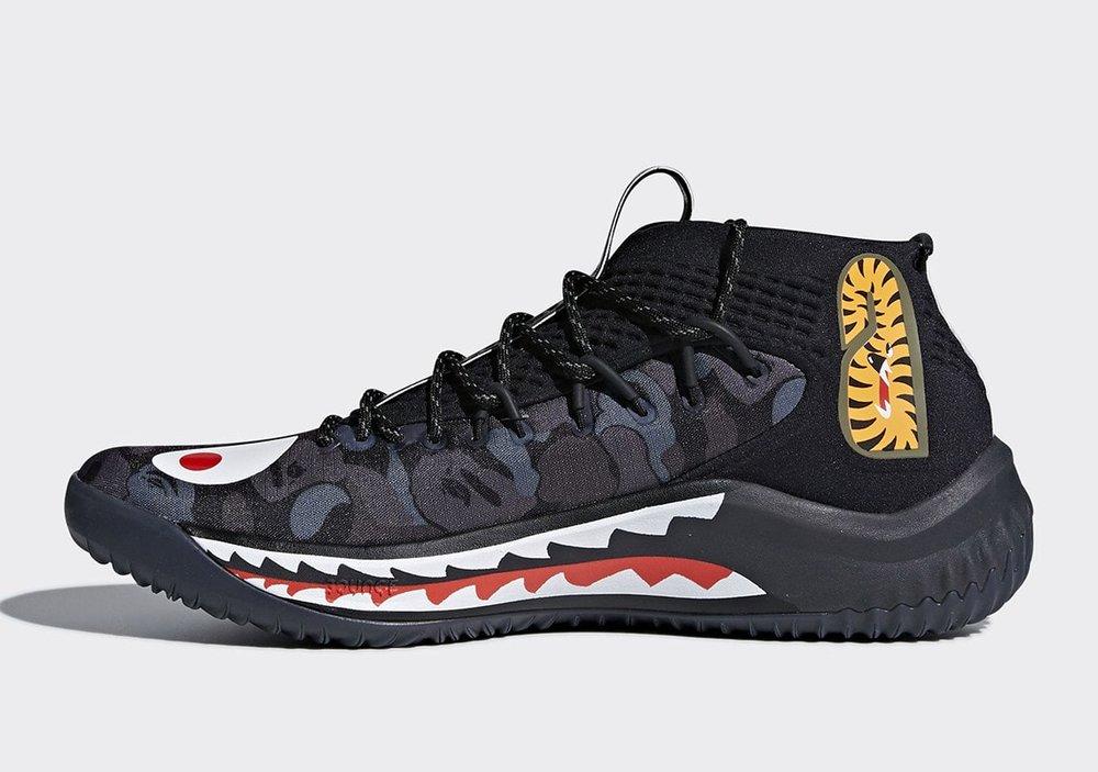 6928924a87d Sneaker Alert  Bape X Adidas Dame 4 - DOPECAUSEWESAID