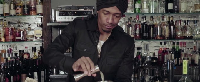 Nick Cannon stirs up a mai tai and more on Fuse's Behind the Bar.jpg