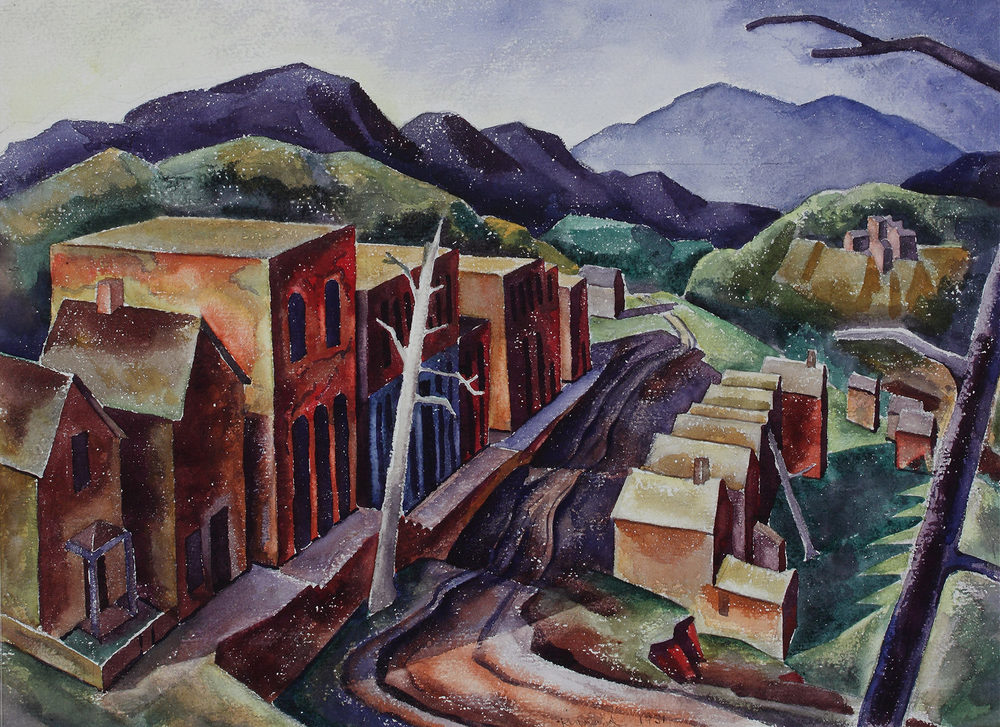 Vance Kirkland — Modernist West