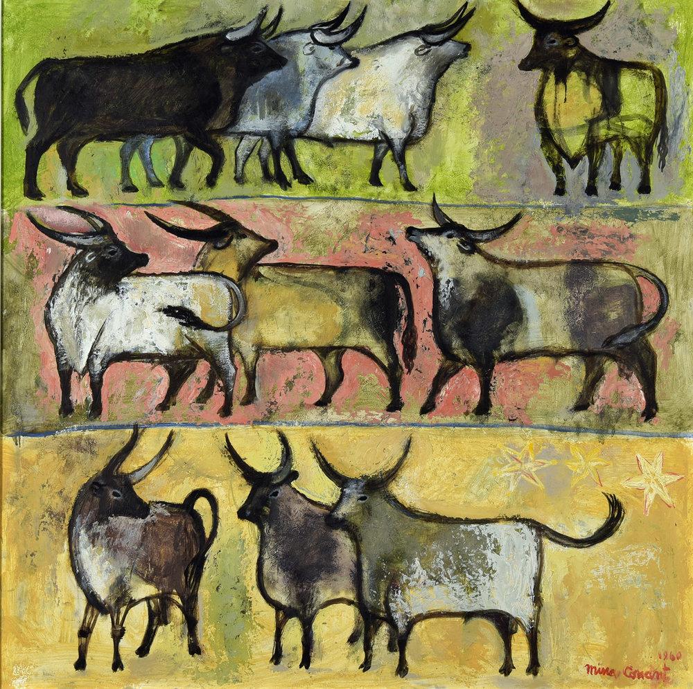 Conant, Mina_Untitled (bulls) UnFramed.jpg