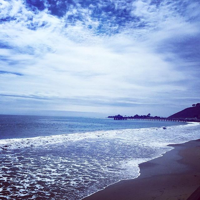Malibu Monday's on the Harley!! ✌🏼️ #nobu #malibu #harley #bikeride #ocean #pch #cruisin