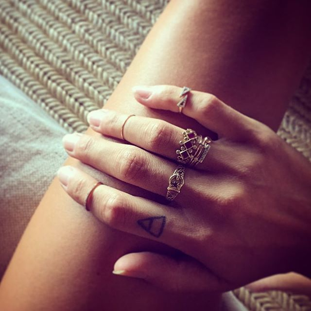 Wednesday ring game 👊🏼✨ #rings #vintage #collection
