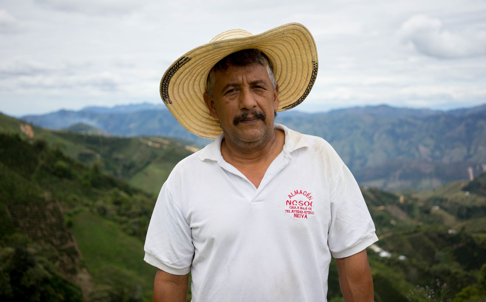 Hernando Gomez is running the farm together with his four sons.