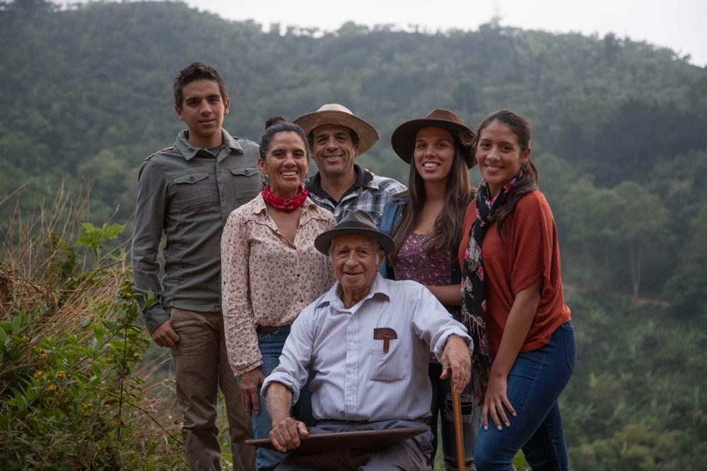 The Montero family