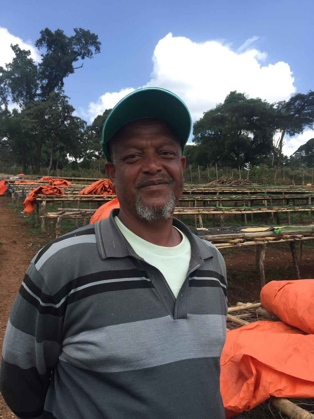 Farm Manager Mohammed Museyen