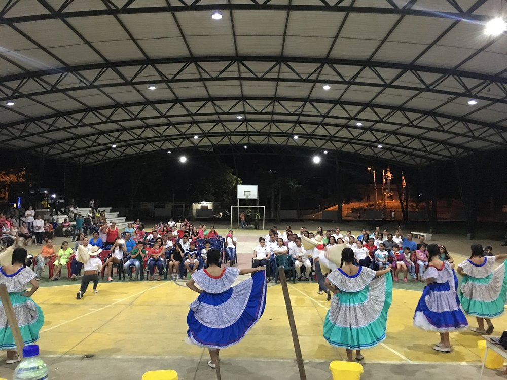 Opening ceremony of the Tarqui microlot competition