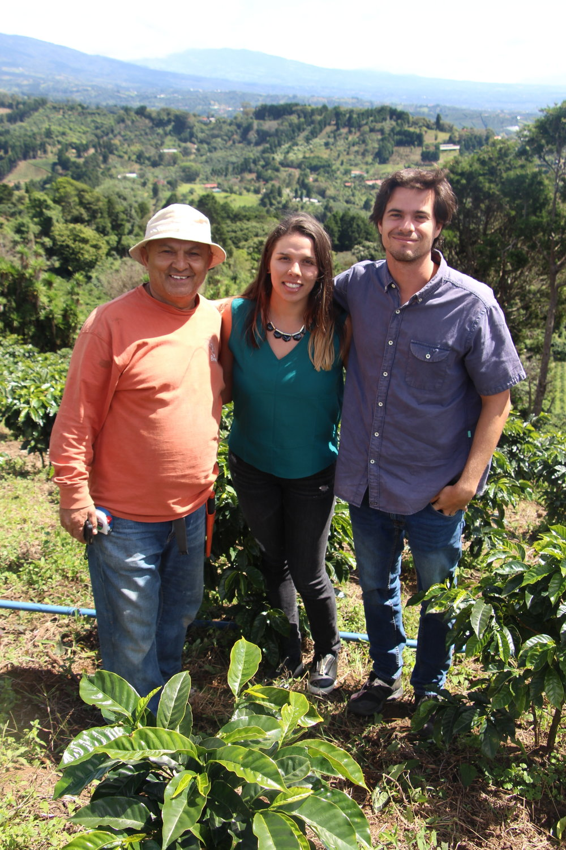 Marianela and Diego visiting Lazlo farm in West Walley