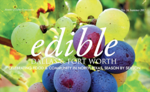 Thanks to Dame June Naylor for this article published in  Edible Dallas  about Dallas Chapter of Les Dames d'Escoffier.