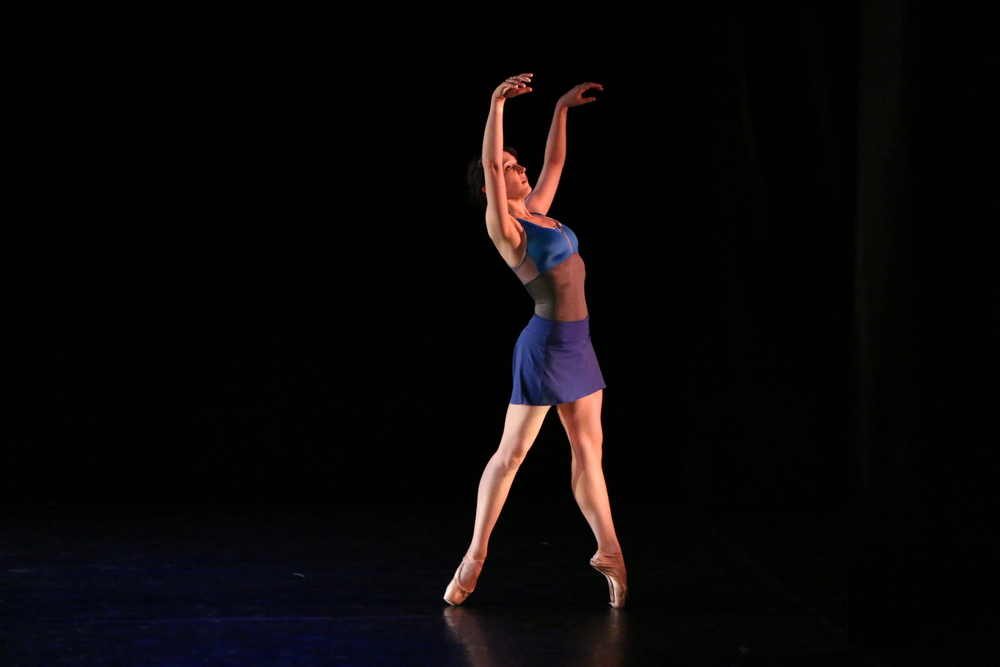 Jessica Tretter rehearsing Querencia by Michele Wiles