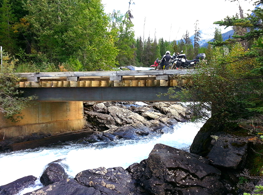 Motorcycle adventures in British Columbia, Canada - Ghost Town Hunting