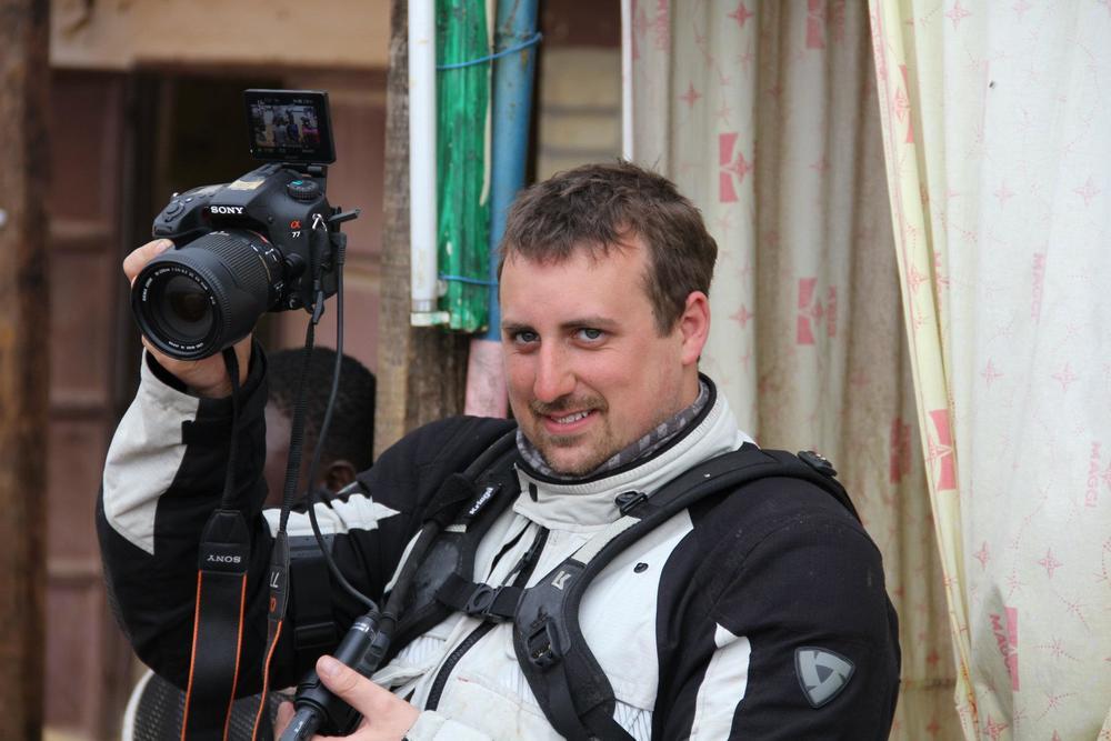 Tom Woodrow - Adventure Bike TV