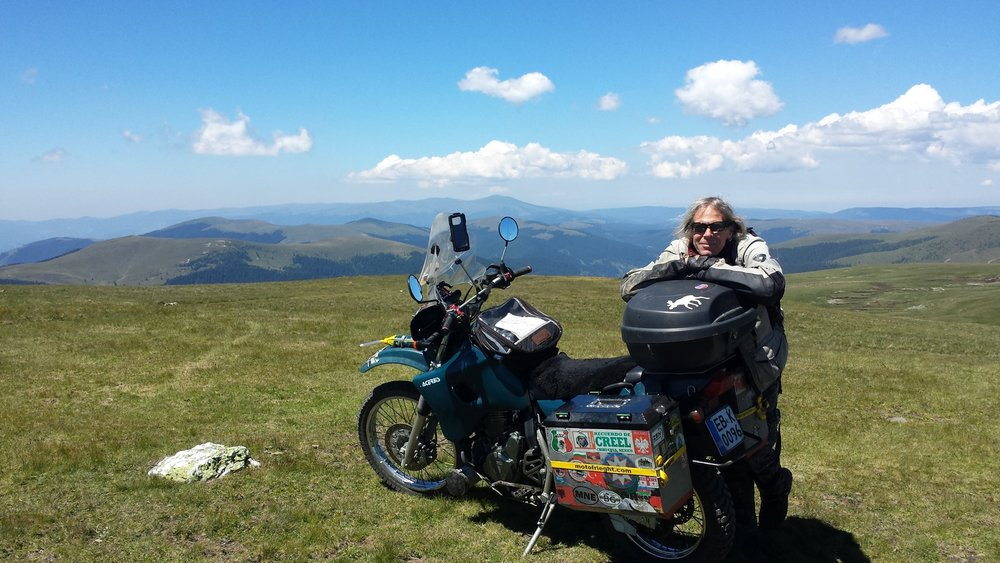 Graham Field - Motorcycle Adventure Author