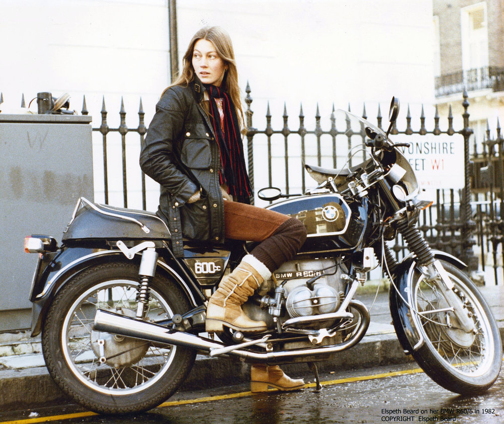Elspeth Beard First British Woman To Motorcycle Around