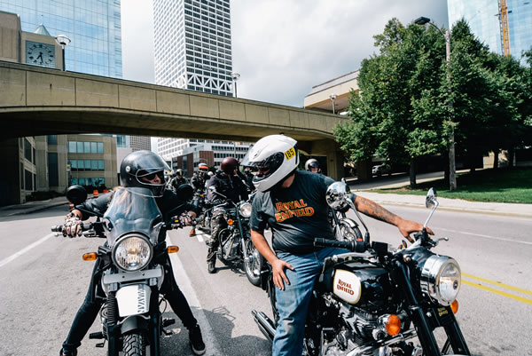 Royal Enfield executives, ambassadors and enthusiasts partake in a brand ambassador ride on Friday, September 9, 2016.jpg