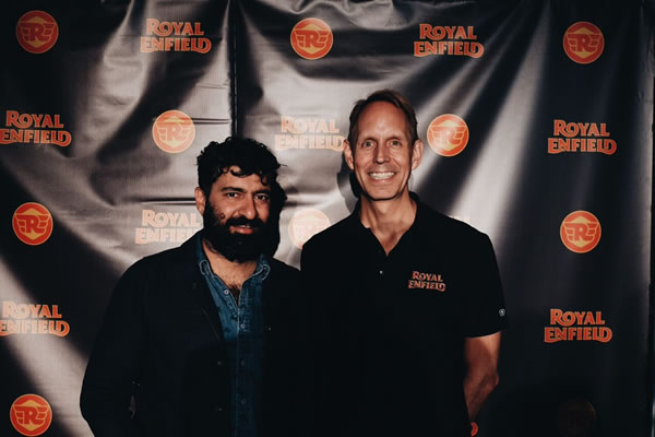 Royal Enfield North America CEO Siddartha Lal and Royal Enfield North America President Rod Copes .jpg