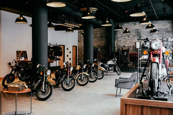 Royal Enfield of Milwaukee's flagship showroom.jpg