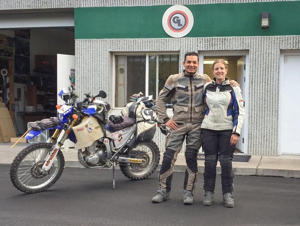 Alberto Lara & Naomi Tweddle - MotoLara