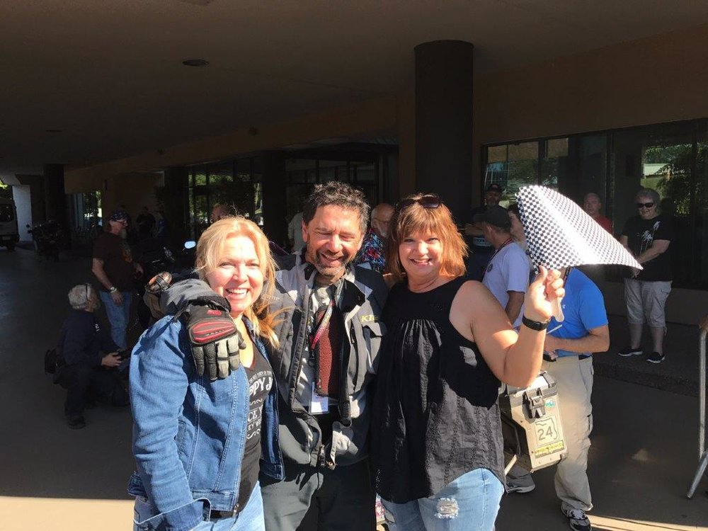 Iron Butt Rally Finish: Bob Lilley