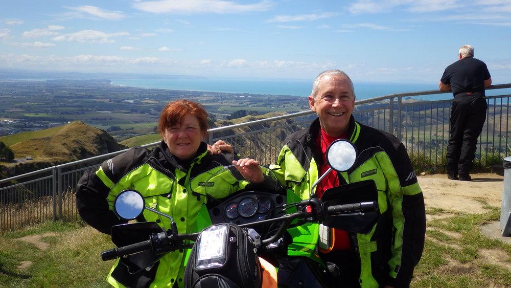 Walt Fulton & Nancy Foote in New Zealand