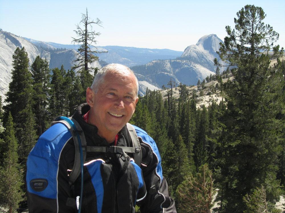 Walt Fulton in Yosemite