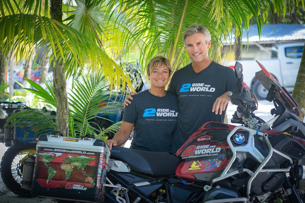 Image: Lisa and Simon Thomas